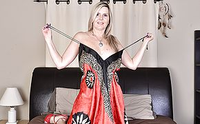 <b>Naughty</b> Canadian housewife playing with herself