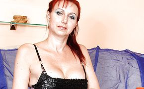 Naughty housewife fucking and <b>sucking</b>