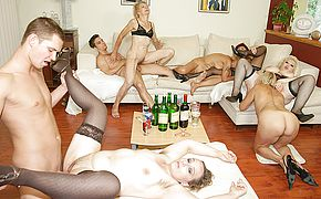 A special and kinky <b>mature</b> sexparty