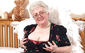 <b>Granny</b> what big tits and a dirty mind you have