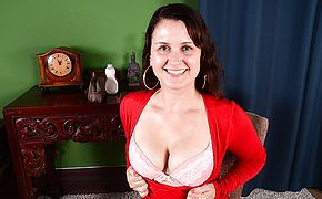<b>Naughty</b> American housewife playing with herself